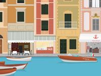 Italian harbour