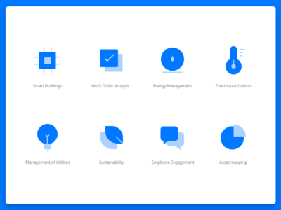 Features Icons illustration dashboard infographic chart icons pack icons