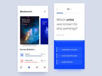 Survey knowledge checking app