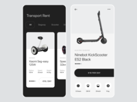 Electro transport rent app