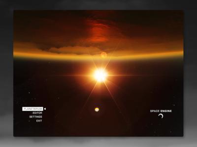 SpaceEngine UI Concept