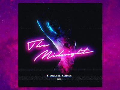 The Midnight   Endless Summer EP   Album Art