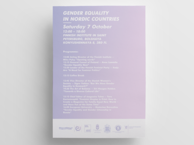 Gender Equality In Nordic Countries Design