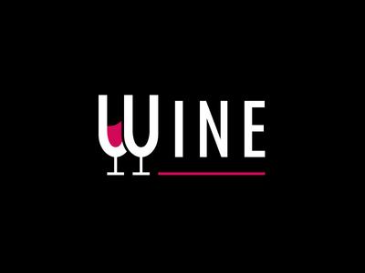 Wine wine glass lettering logo glasses glass wine