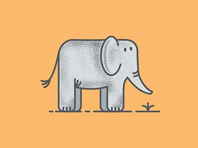 Elephant vector animal illustration elephant