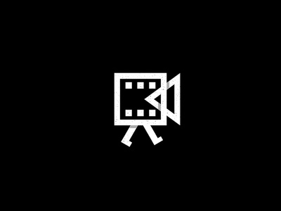 Film Production character symbol icon logo production film