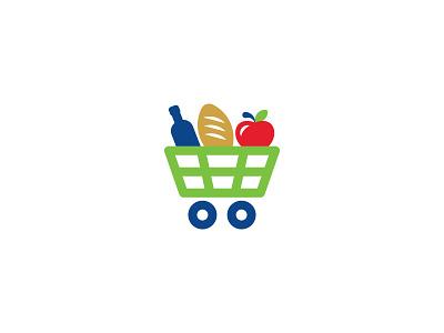Biomart symbol logo grocery store grocery supermarket market biomart