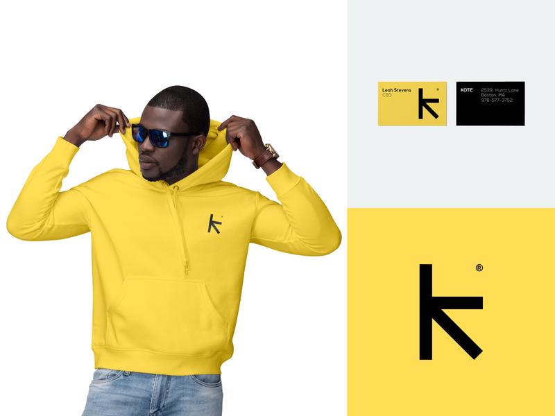 Kote | Logo design branding identity logo design logotype identity branding clothing brand hoodie business card symbol icon logo mark streetwear clothing label man male clothing logo logotype k letter clothing brand identity