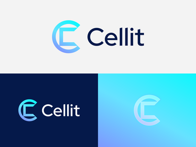 Cellit | Logo design c letter logotype gradient branding and identity logo design branding 2d logodesign identity branding it solutions technology tech square c logo it branding identity it company c letter logo