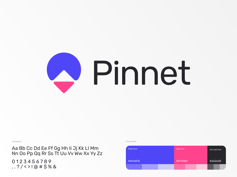 Pinnet | Logo design concept logodesign identity branding illustration branding and identity identitydesign negative space logo contrast logo mark identity branding logo design branding logo grid hot air ballon direction location compass pin logo
