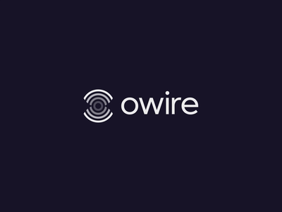Owire | Logo animation logo design branding branding and identity identity branding logo design wifi o letter artificial intelligence tech software it motion graphic design identity branding animation logo animation