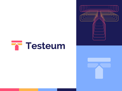 Testeum | Logo design t letter logo for sale unused t letter t logo branding design 2d brand identity branding and identity logo design branding logotype identity branding identity logo design branding