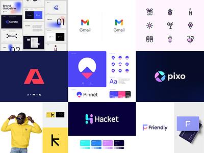 Top 9 | 2020 2020 logodesign branding design logo design brand identity branding and identity logo design branding identity branding typogaphy top branding logo top nine