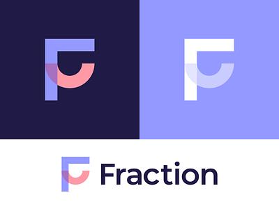 Fraction | Logo design f letter 2d logo logodesign branding and identity logo design branding logotype identity branding identity logo design branding