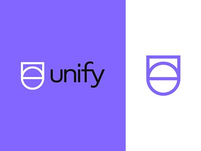 Unify   Logo design u letter logo vector logo 2d branding and identity logo design branding logotype identity branding identity logo design branding