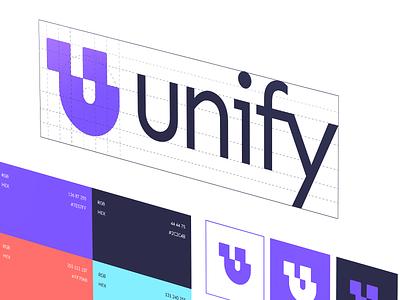 Unify | Brand Identity u logo u letter logo u letter 2d branding design logodesign branding and identity logo design branding logotype identity branding identity logo design branding