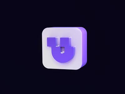 Unify 3D c4d 3d icon brand identity logodesign 2d branding and identity logo design branding logotype identity branding identity logo design branding