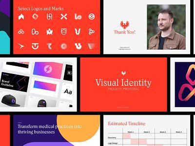 Project Proposal Design layout design layout proposal logo design branding brand identity logotype branding and identity branding identity branding logo design