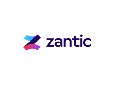 Zantic   Logo design z logo design z logo z letter logo z letter brand identity branding design logodesign branding and identity logo design branding logotype identity identity branding logo design branding