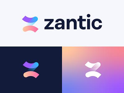 Zantic   Brand Identity identitydesign z logo brand identity 2d logodesign branding and identity logo design branding logotype identity identity branding logo design branding