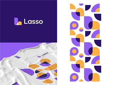Lasso | Brand Identity brand identity mark logo grid tech digital medical marketing branding and identity logo design branding identity identity branding logo design branding
