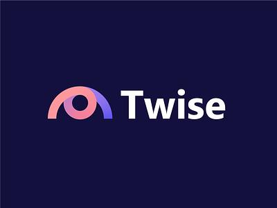 Twise   Logo design tech digital agency branding agency branding design gradient eye logo artificial ai intelligence artificial intelligence branding and identity branding logo eye