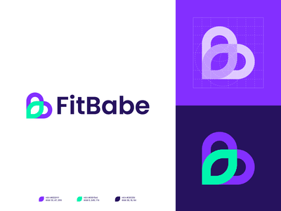 FitBabe | Logo version 1 women product digital digital design fitness logo free goo logo organic logo 2d design logo logotype branding and identity identity logo design branding identity branding logo design branding