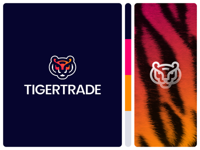 TigerTrade | Logo design 2 tiger head wild money trade tiger head design tiger logo identity logo illustration design logotype branding and identity logo design branding identity branding logo design branding