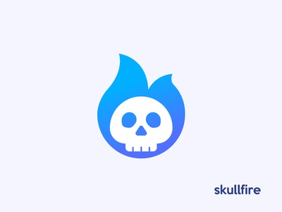 skullfire 💀🔥 | logo, mark, symbol unused for sale fireskull skull logo logotype fire logotype skull logo skull logo fire