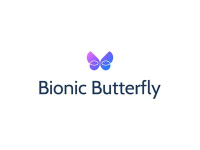 Bionic Butterfly Logo Design #2.2