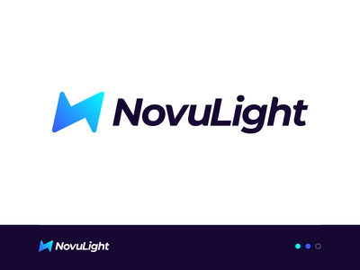 NovuLight Logo Design