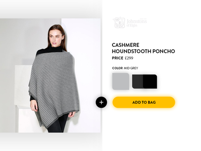 Johnstons Store Design photoshop clean minimal ui purchase store