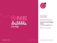 Dribbble Invite Giveaway logo dribbbleindia india logo design brand identity identity branding best designer graphic design design draft dribbbleinvitation invite invitation giveaway free dribbble invitation dribbble invite dribbble