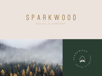 Sparkwood Social & Content | Brand Identity Concept