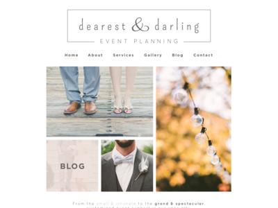 Dearest & Darling | Website Design