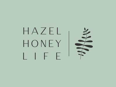 Hazel Honey Life — Primary Logo