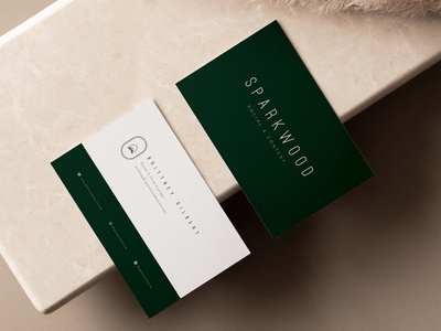 Sparkwood Social + Content — Business Card Concept