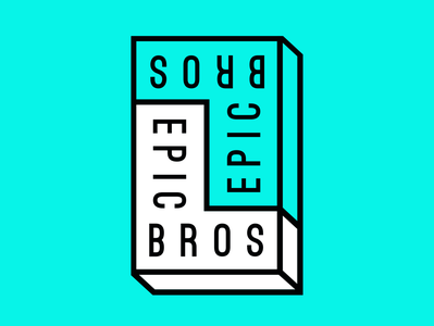 The Epic Bros. — Brand Mark