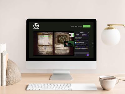 Teawrex.tv — Squarespace Website Design