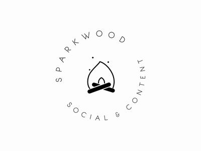 Sparkwood Social + Content — Brand Mark