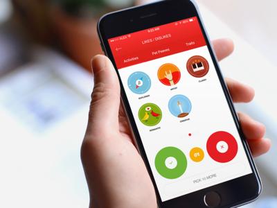 Custom Icon Illustration and App UI Design iphone design ui designlico designli app dating badges apps icon