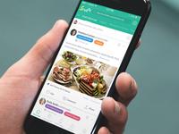 SrvdUp Hospitality Social Network App - Designli App Development