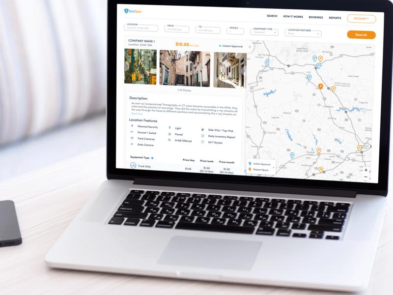 A Zillow-Inspired Yard Space Booking Platform development ux ui designli design web design zillow web-app website