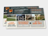 Cedar Rustic Print Marketing