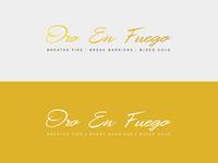 Oro En Fuego Logo