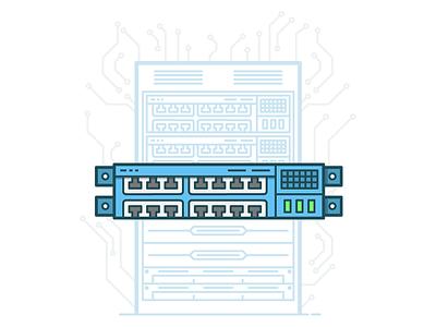Shared hosting illustrator hardware provider scheme machine host vector database server shared hosting hosting