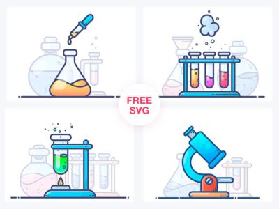 FREE Chemistry Illustrations