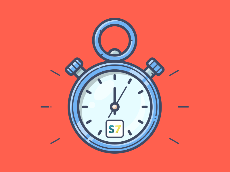SCARCITY vector time robot present sell shopify icon illustration scarcity smar7 timer clock