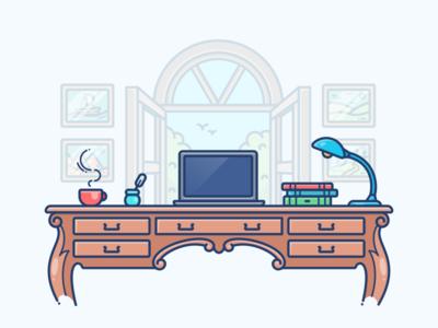 Cabin Workspace
