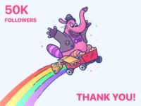50K Followers